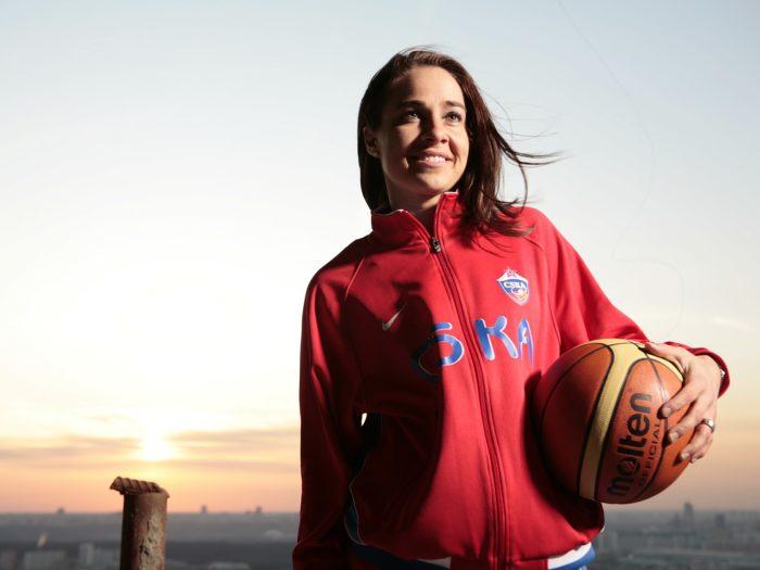 Becky Hamon au Spartak Moscou
